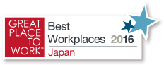 GREAT PLACE TO WORK® Best Workplaces 2016 Japan