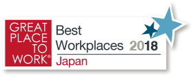 GREAT PLACE TO WORK® Best Workplaces 2018 Japan