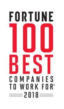 2018年版 米国における 働きがいのある会社 ランキング fortune 100
