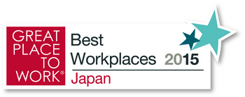 GREAT PLACE TO WORK® Best Workplaces 2015 Japan