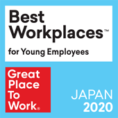 Best Workplaces ™ for Young Employees Great Place To Work® JAPAN 2020